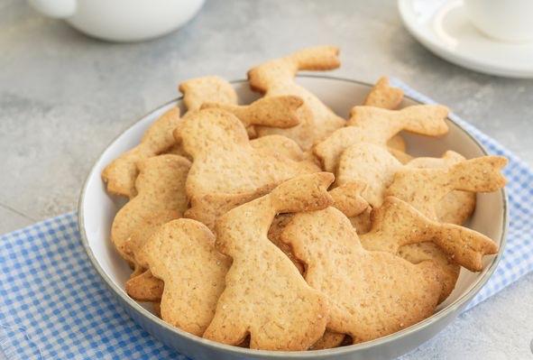 Lean egg-free honey cookie