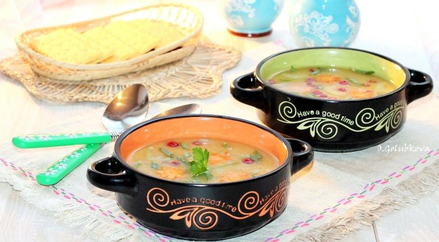 Tuna and cranberry soup