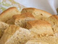 Whole-grain flour-free bread