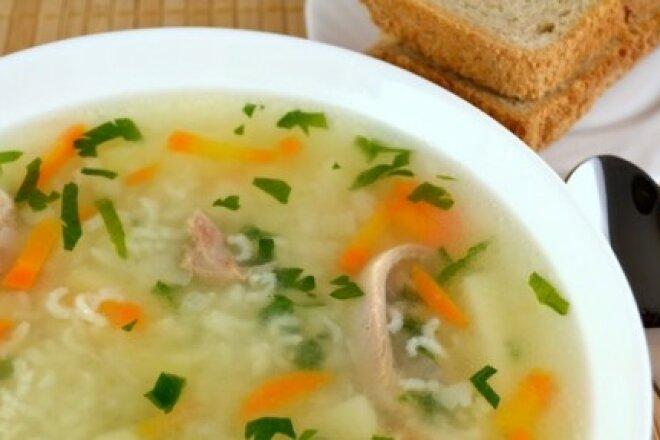 Homemade duck soup