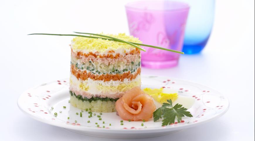 Simple Mimosa Salad