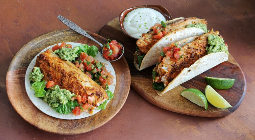 Jamie Oliver's Mackerel Tacos
