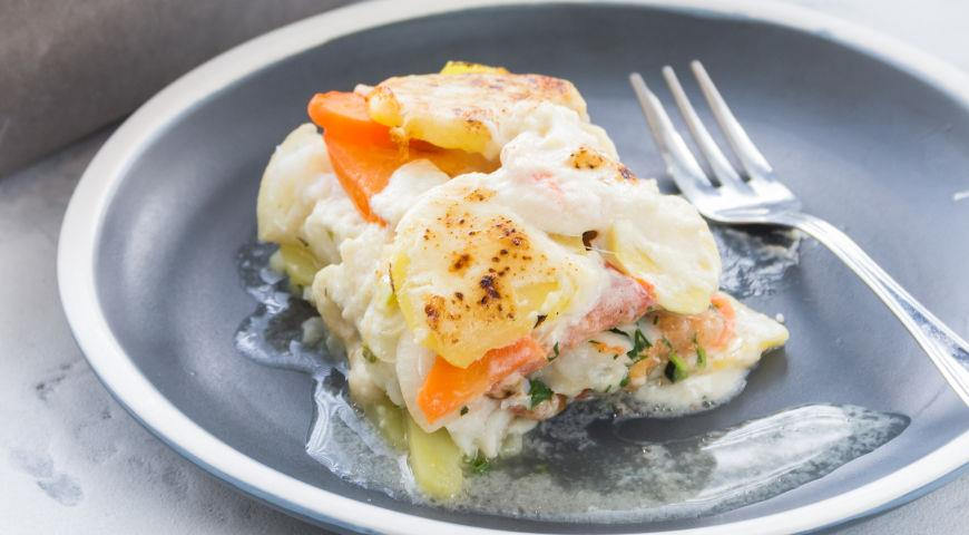 Cod Casserole with Vegetables Everyone Will Love