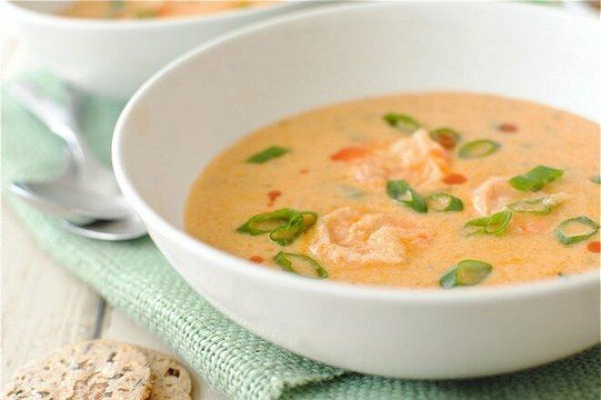 Simple Italian Shrimp Soup