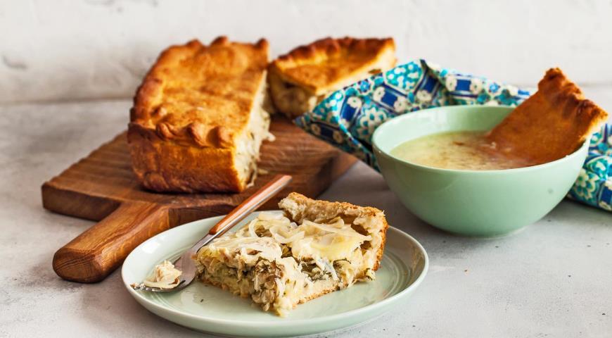 Simple muksun and chowder pie