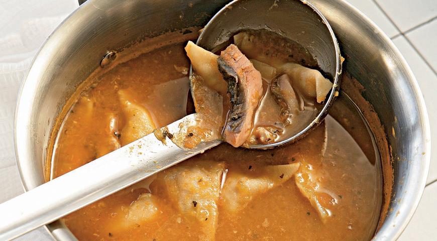 Balaton fish soup with fish dumplings