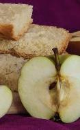 Apple bread in a bread maker