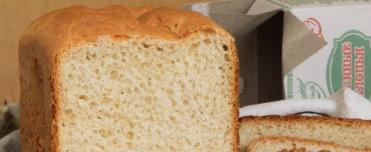 Oat bread in a bread maker