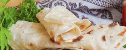 Thin pita bread without yeast