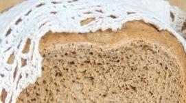 Wheat-rye bread with buckwheat flour