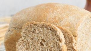 White bread with fiber