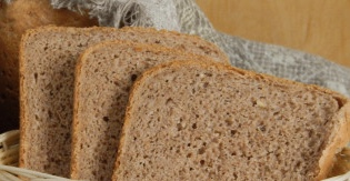 Buckwheat bread with nuts