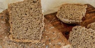 Homemade Borodino bread