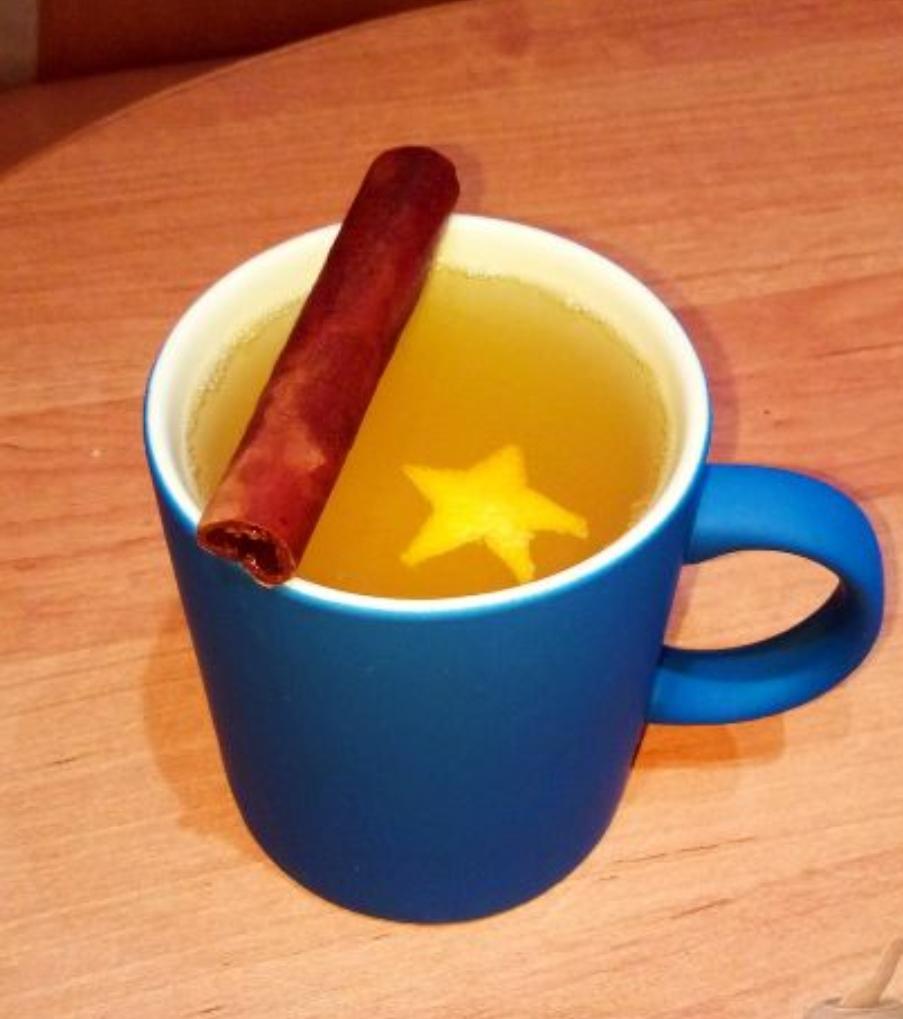 Mint Mandarin Tea