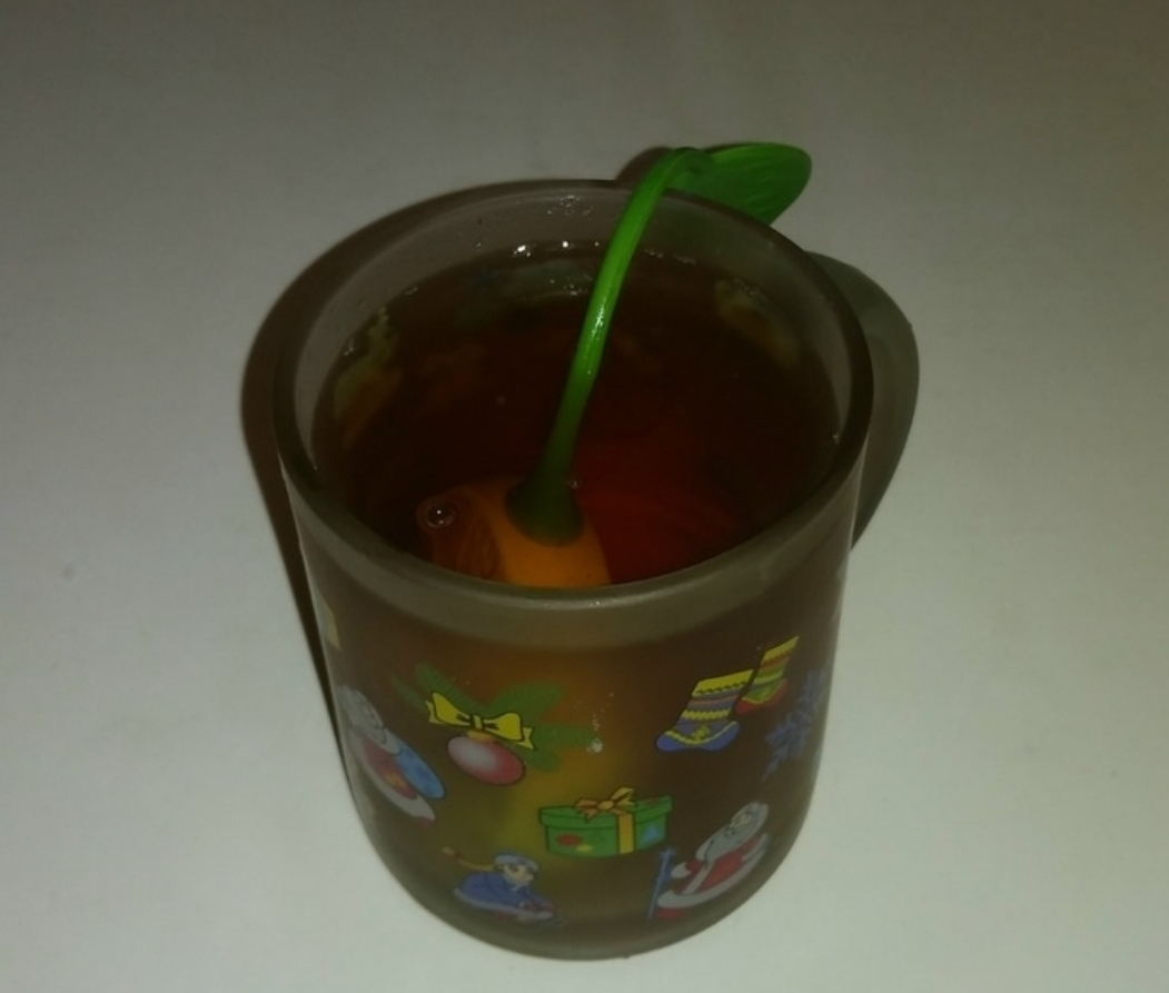 Tea with liquor for colds