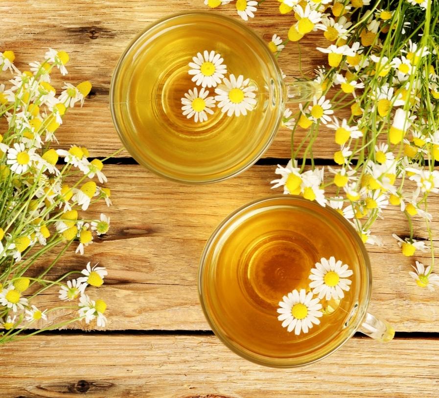 Swiss tea with chamomile