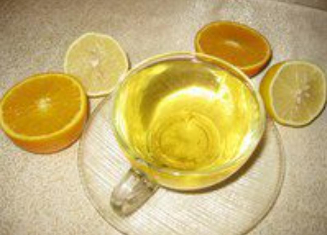Chamomile tea with citrus