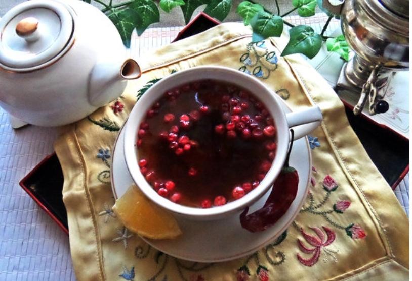 Unusual tea