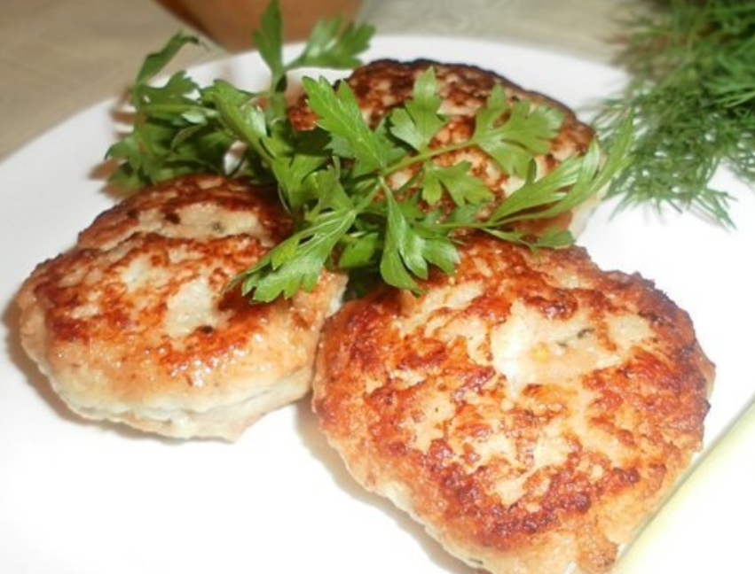Fragrant cutlets