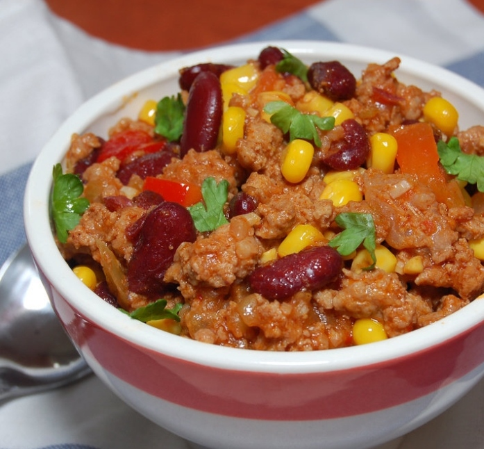 Mexican chopped beef