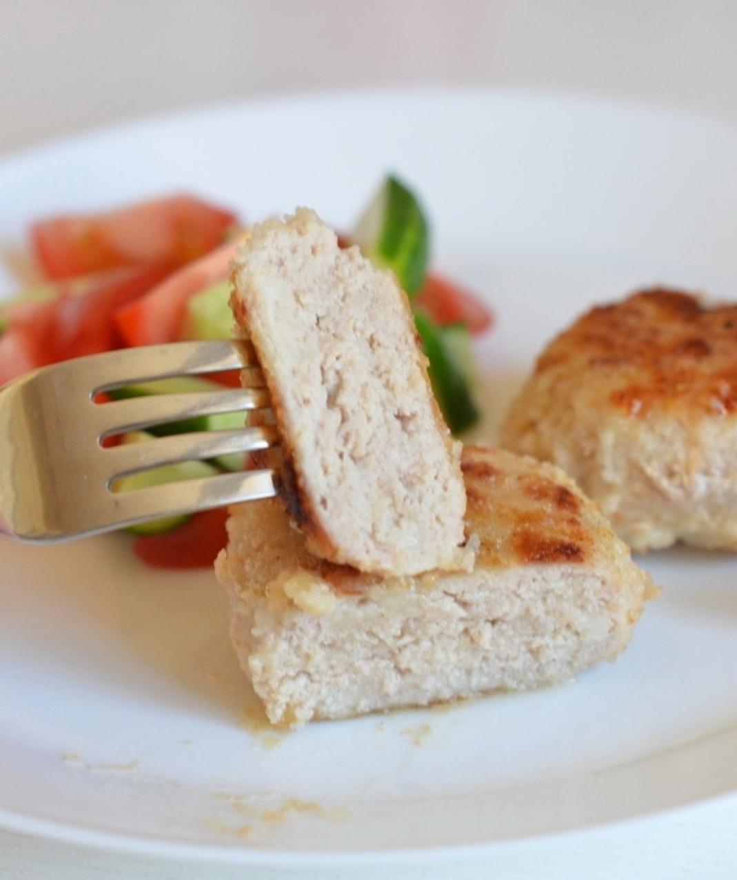 Creamy turkey cutlets (chicken)