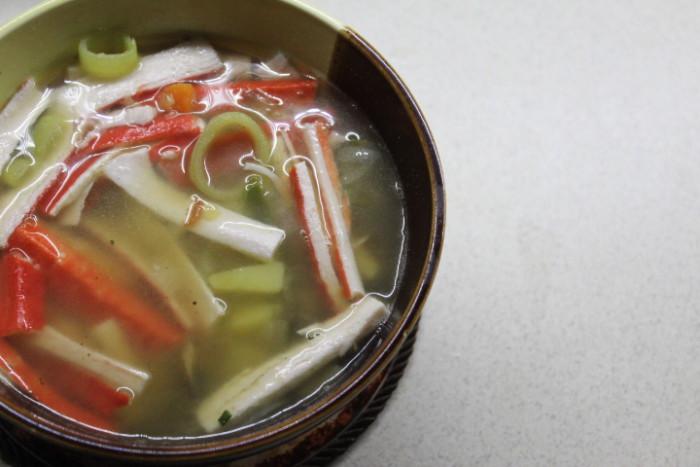 Crab Vegetable Soup - Delicious Lean Instant Soup