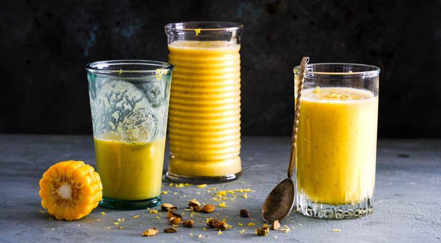 Spiced Corn Milk Cocktail