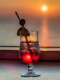 Cocktail Sunset with Tequila (Tequila Sunset)