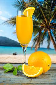 Orange or tangerine fizzy