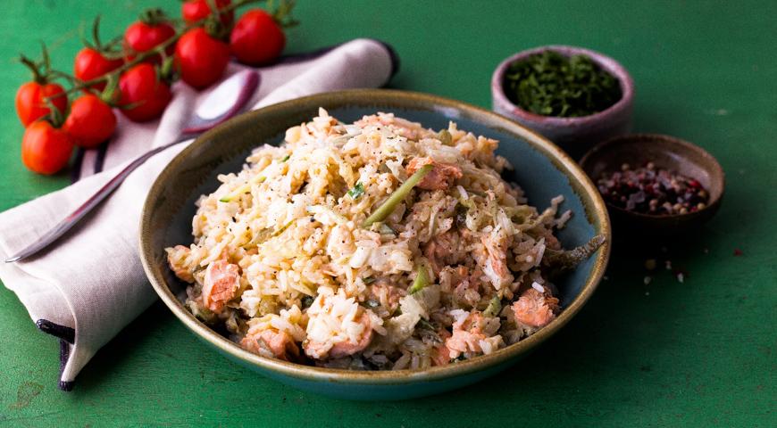 Lean fish salad