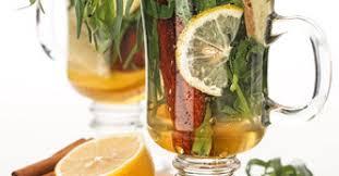 Hot Warming Tarragon Drink