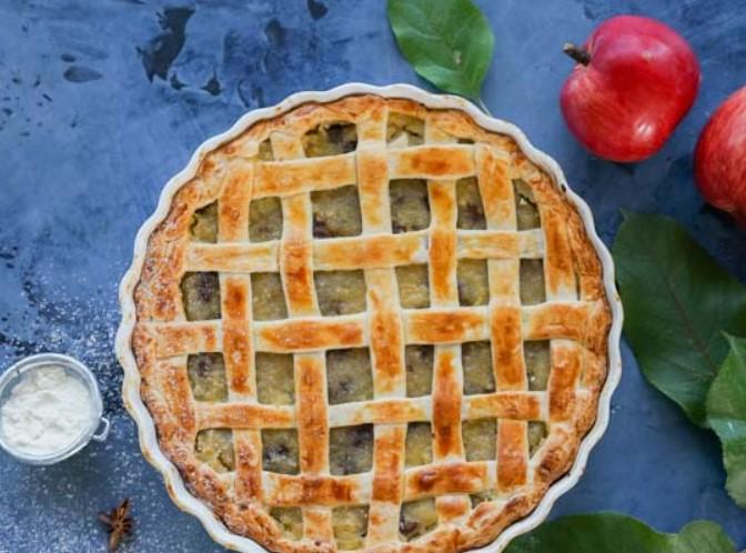 Puff Apple Pie