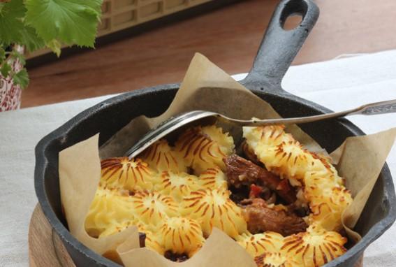 Lenten Shepherd's Pie with Mushrooms