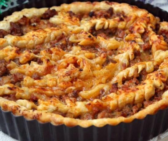 Festive Meat Pie