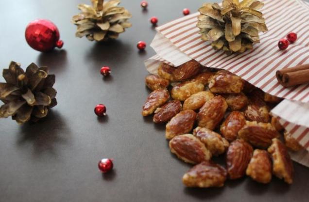 Roasted Almonds in Caramel