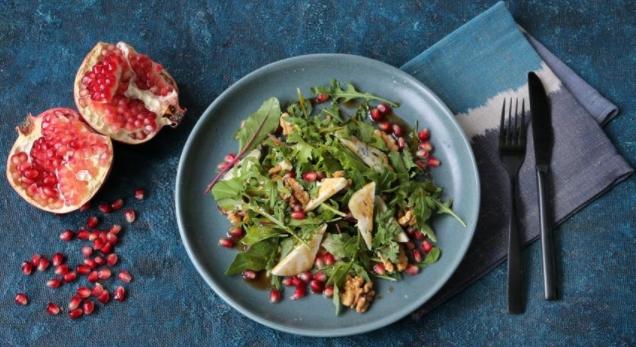 Arugula and Pomegranate Salad