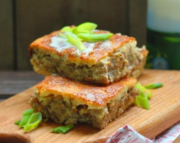 Jellied Meat Pie on Kefir