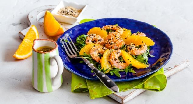 Shrimp and Orange Salad