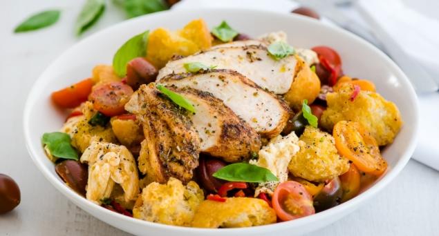Summer Salad with Chicken