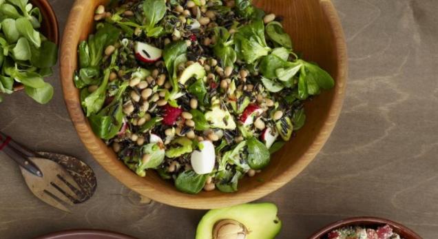 Wild Rice and Avocado Salad