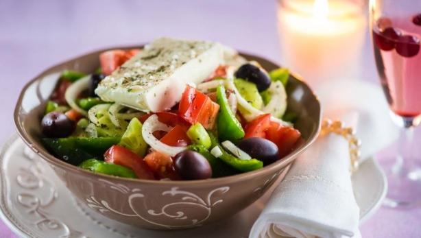 Greek Salad with Fetax