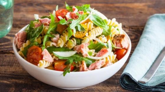 Canned Tuna Pasta Salad