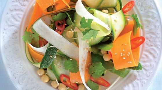 Vegetable Noodle Salad