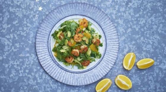 Avocado, Shrimp and Fennel Salad