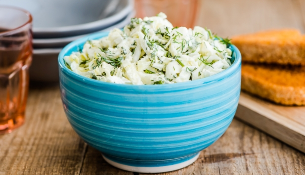 Cabbage Salad with Dill