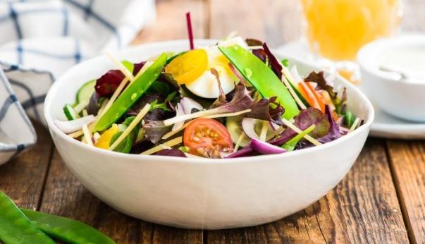 Crispy Egg Salad