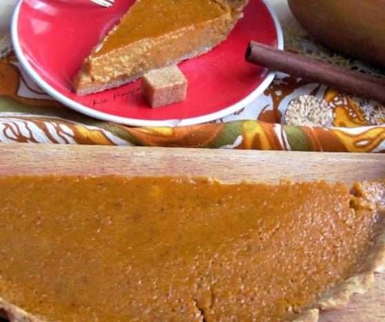 Spicy Pumpkin Tart