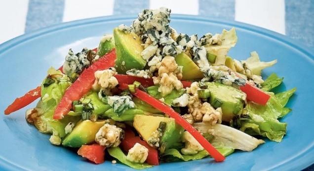Avocado Salad with Roquefort