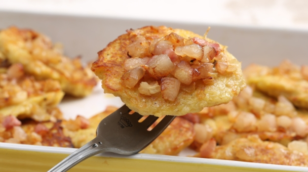 Potato Pancakes in the Oven