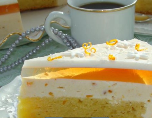 Orange Yoghurt Pie